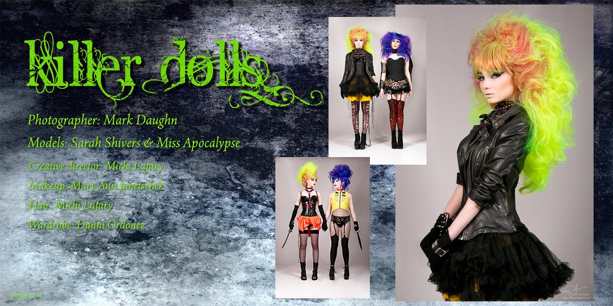 Killers Dolls plate 61-62
