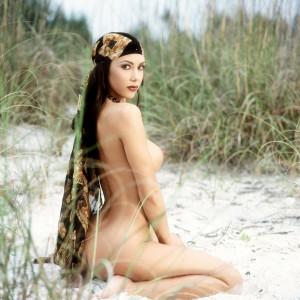 linda mys sand scarf 14R